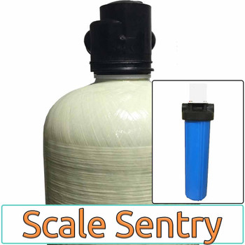 Scale Sentry RESIDENTIAL Salt-Free Home Water Conditioner with HIGH-FLOW Radial Flow Carbon Prefilter