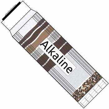 Aptera Alkamag Alkaline Filter - 2.5-inch x 10-inch