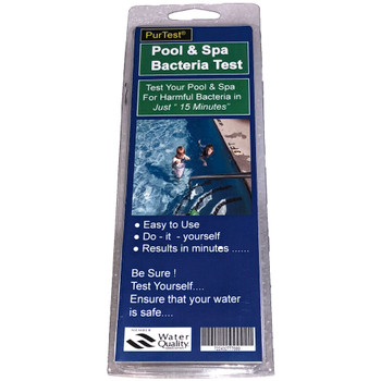 PurTest Pool and Spa Bacteria Test Kit