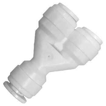 1/4-inch Quick Connect Union Y Fitting