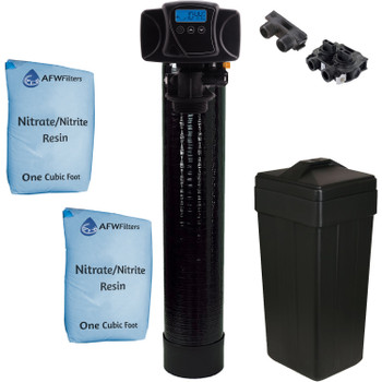 Nitrate/Nitrite Filter 2 Cu Ft All Nitrate Resin with Fleck 5600SXT