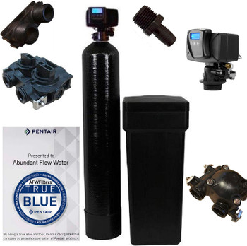 Pentair WS48-56sxt10 Fleck water softener, Black