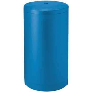 """18""""x33"""" Blue Round Brine Tank with Float and Air Check"""