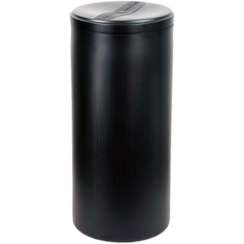 """18""""x40"""" Black Round Brine Tank with Float and Air Check"""