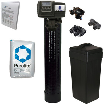 1 cubic Foot (32k) On Demand Whole Home Water Softener with Purolite C100E Resin