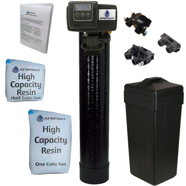 1.5 cubic Foot (48k) On Demand Whole Home Water Softener with High Capacity Resin
