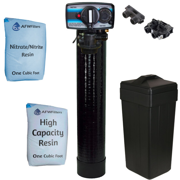 Nitrate/Nitrite Filter Water Softener 2 Cu Ft 50/50 Resin Blend with Fleck 5600