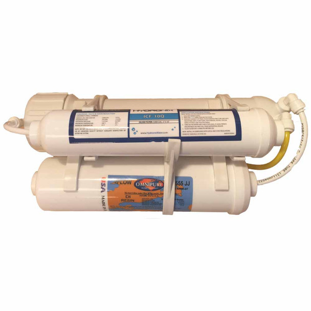 Mikro Omega 3 Stage Portable Aquarium RO/DI System with 75 GPD Membrane