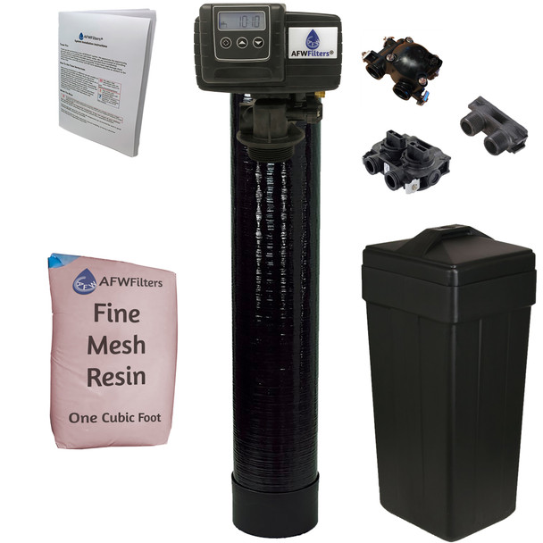 Iron Pro 1 cubic Foot (32k) On Demand Whole Home Water Softener with Fine Mesh Resin
