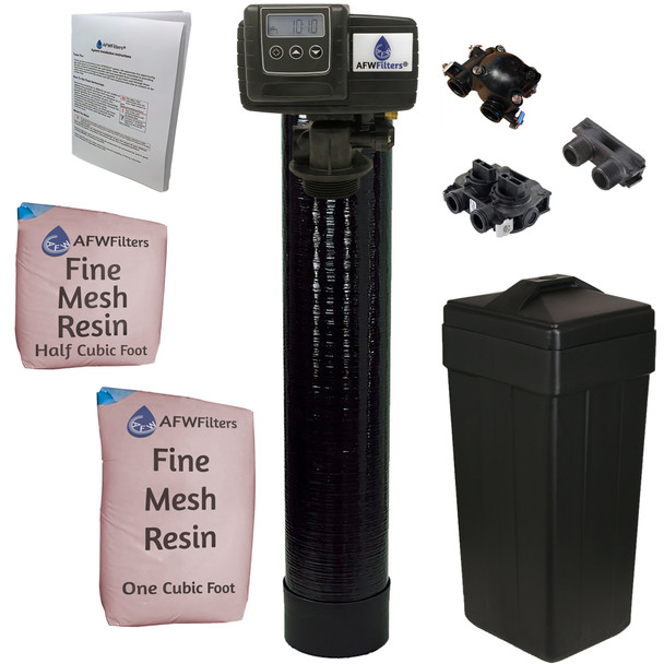 Iron Pro 1.5 cubic Foot (48k) On Demand Whole Home Water Softener with Fine Mesh Resin