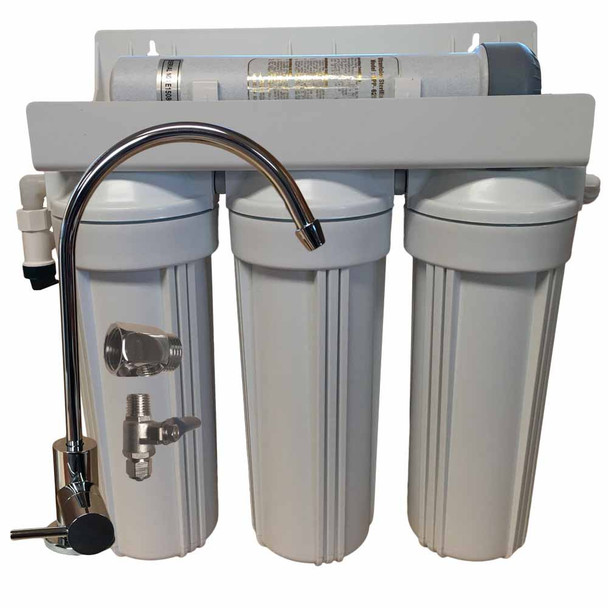 4 Stage 10-inch Drinking Water Filter with UV Sterilizer