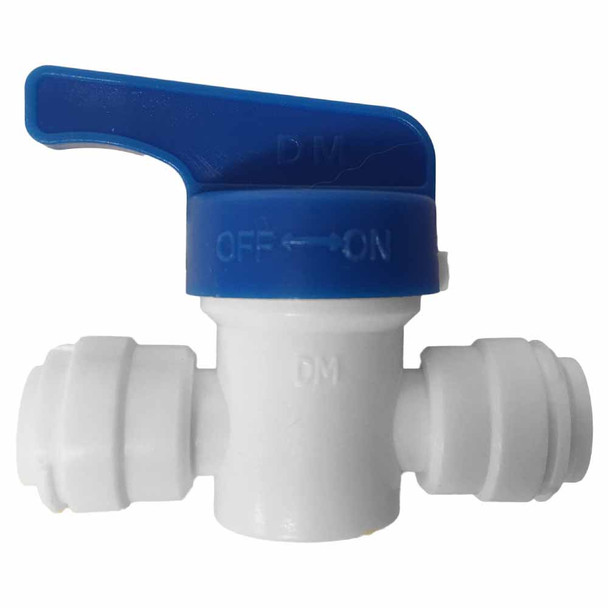 1/4-inch Quick Connect Union Ball Valve