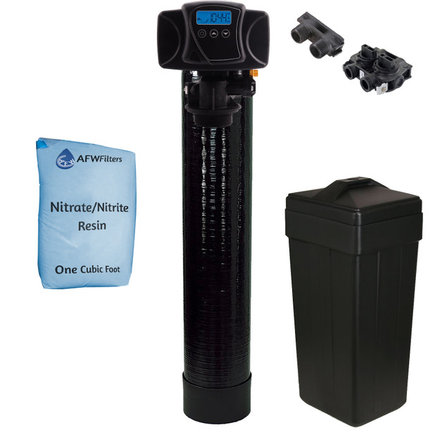 Digital Nitrate/Nitrite Filter 1 Cu Ft All Nitrate Resin with Fleck 5600SXT