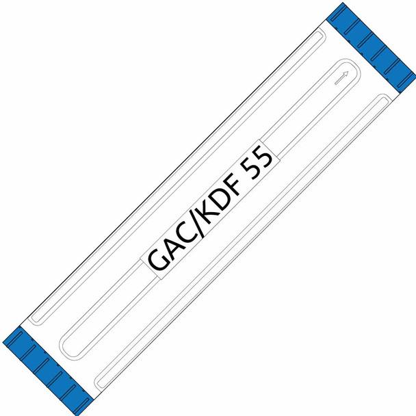 Big Blue 20-inch GAC/5# KDF 55 Filter