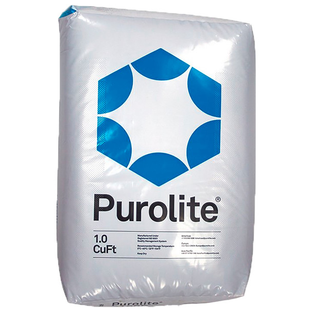 Purolite C100E C-100E Cationic Resin Replacement for Water Softener 1 CuFt Bag Media