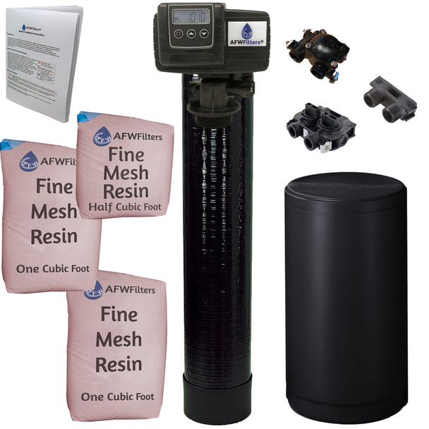Iron Pro 2.5 cubic Foot (80k) On Demand Whole Home Water Softener with Fine Mesh Resin