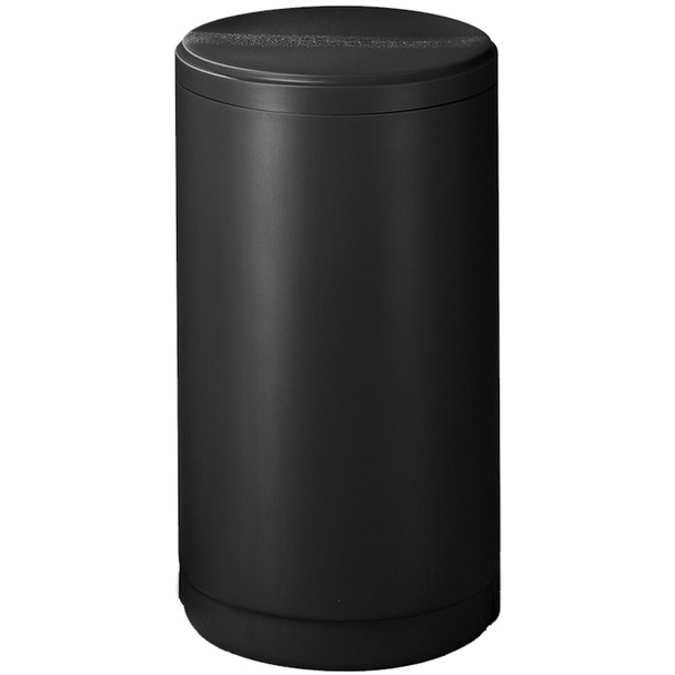 "18""x33"" Black Round Brine Tank with Float and Air Check"