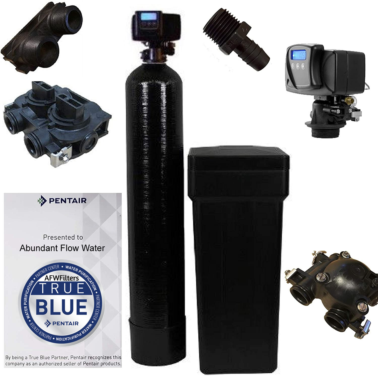 Water Softener with Fleck 5600SXT