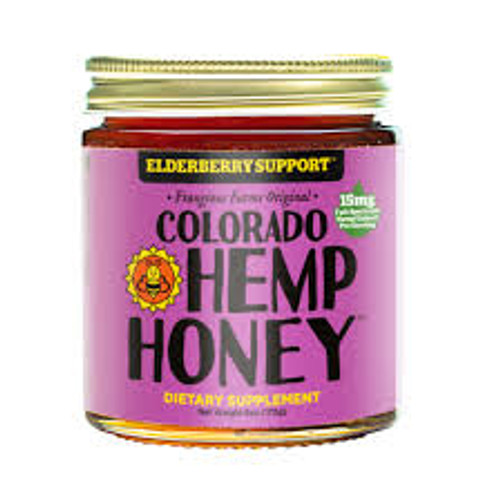 Elderberry Support Hemp Honey- 6oz