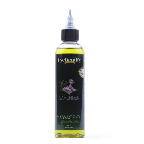 EyeDentify Massage Oil, Lavender 100mg