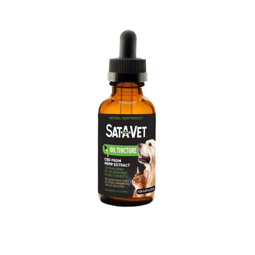 Sat-A-Vet Oral Oil for Small Breeds-30mL /250mg