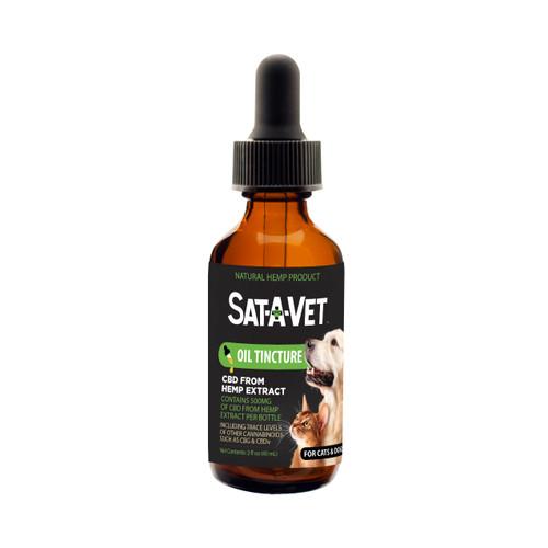 Sat-A-Vet Oral Oil for Large Breeds-60mL/500mg