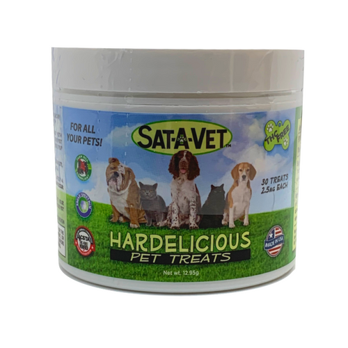 Sat-A-Vet Hard Pet Treats 30ct
