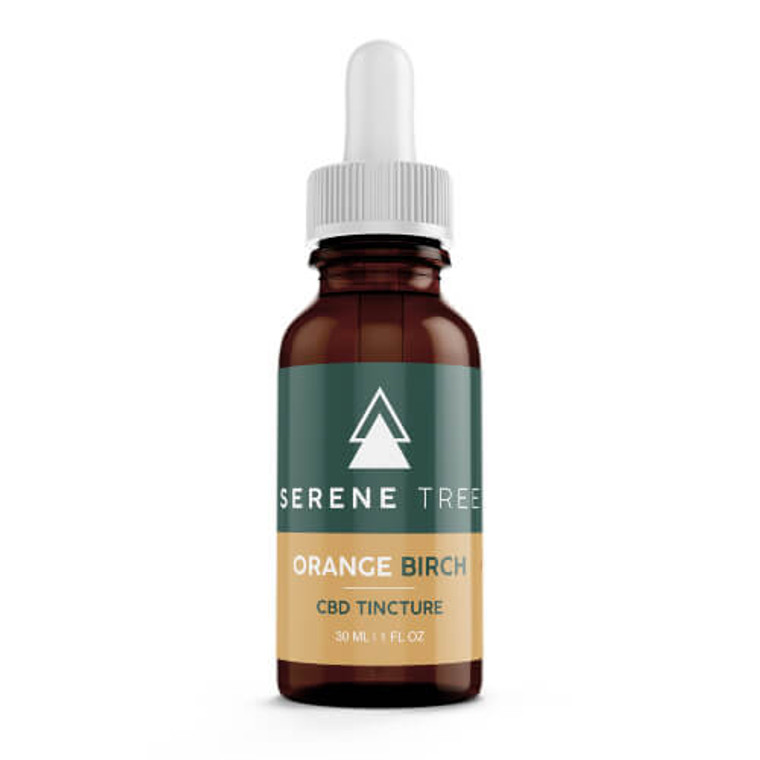 Serene Tree CBD Tincture Orange Birch