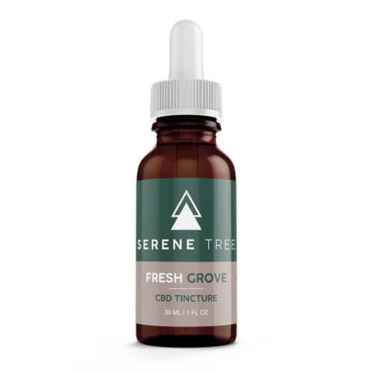 Serene Tree CBD Tincture Fresh Grove