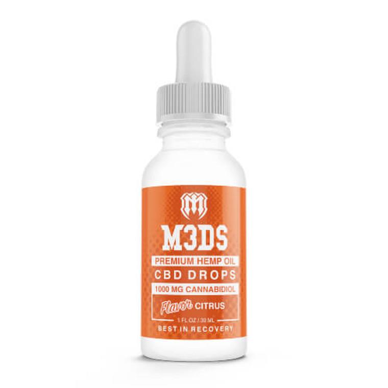 M3DS CBD Tincture Citrus Oil