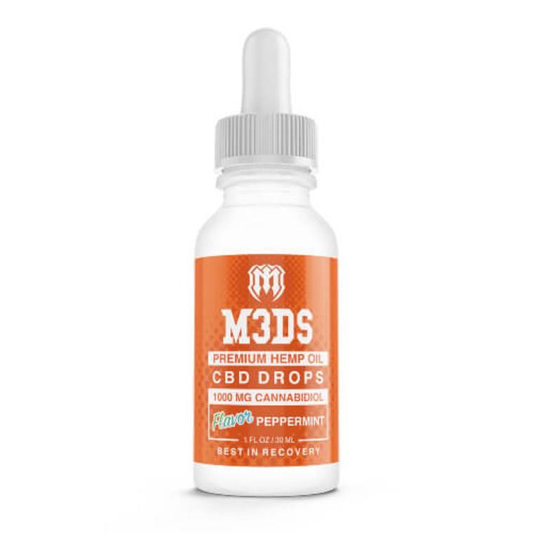 M3DS CBD Tincture Peppermint