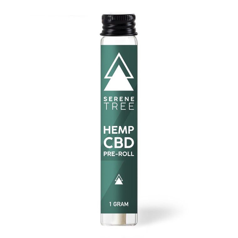 Serene Tree CBD Hemp Pre Rolled joints are packed with USA organically grown flower.