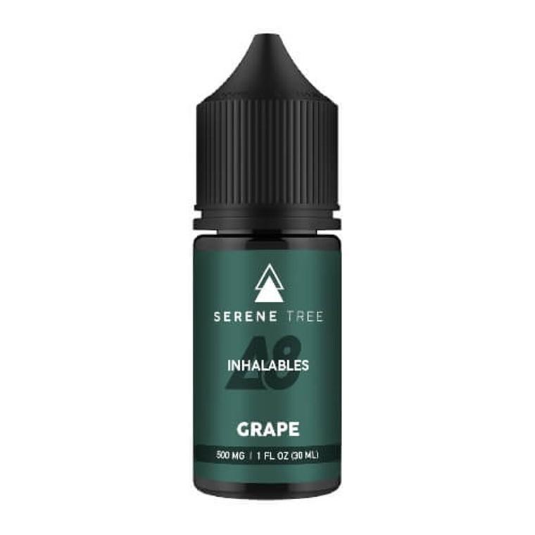 Delta-8 THC vape juice - Grape flavor 500mg