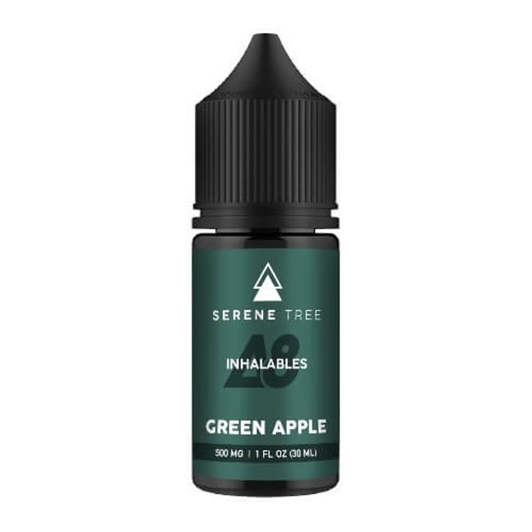 Green Apple 500mg Delta-8 THC vape juice by Serene Tree