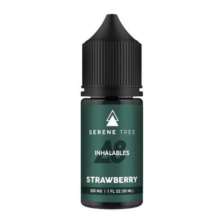 Strawberry Delta-8 THC vape juice by Serene Tree