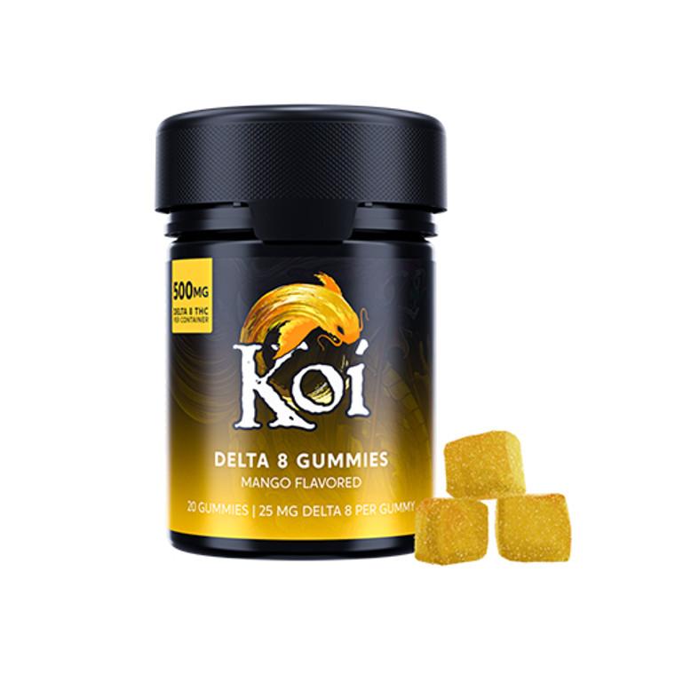 Koi Delta-8 THC Gummies Mango Flavor