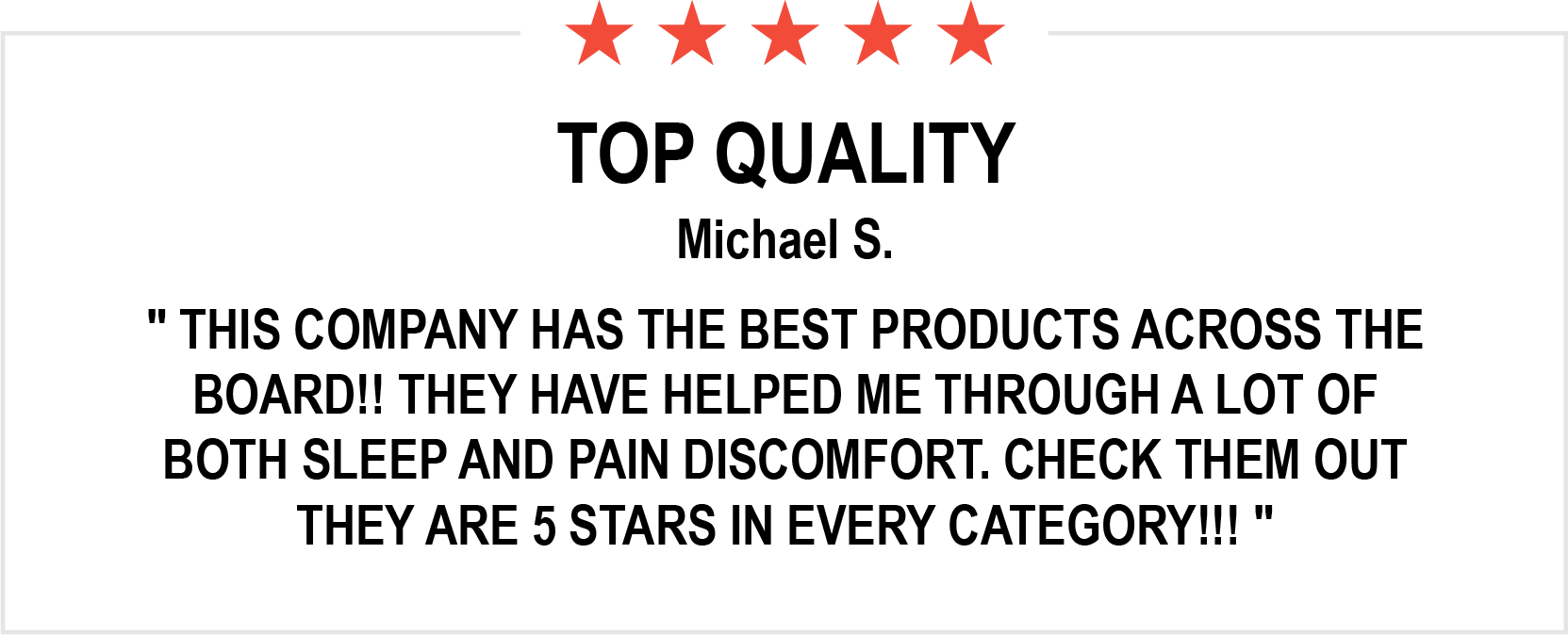 Review Michael S.