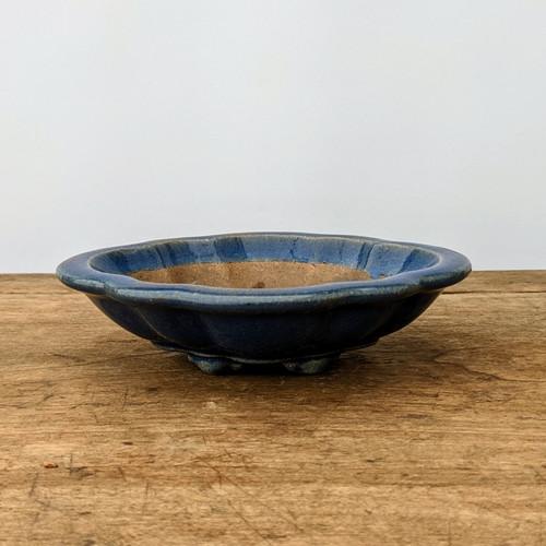 """6"""" Blue Glazed Yixing Pot (No. 179-2)"""