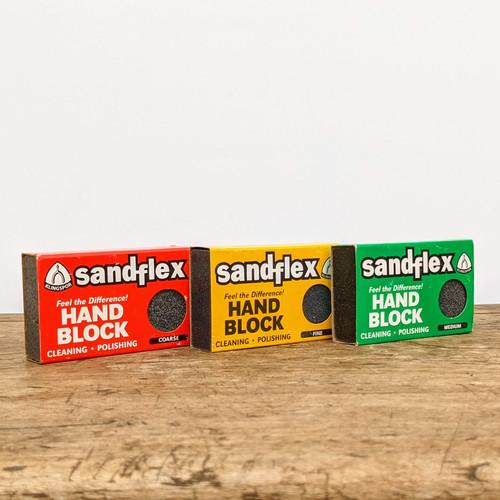 Sandflex Cleaning & Polishing Block (Medium)