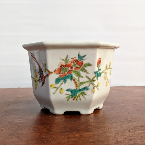 "20 Yr Old Chinese 4"" Bonsai Pot (TK-824)"