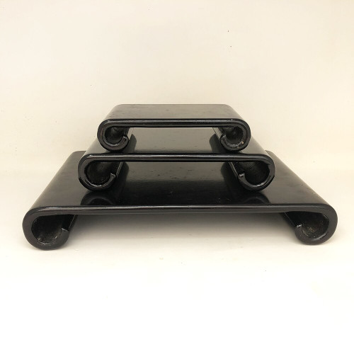 Black Lacquered Bonsai Display Stand