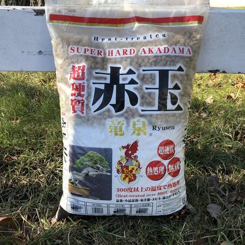 Hard Premium Akadama Bonsai Soil (Shohin or Large Grain)