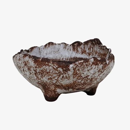 """3"""" Handmade Pot for Kusamono, Accessory or Shohin Planting (KUS036)"""