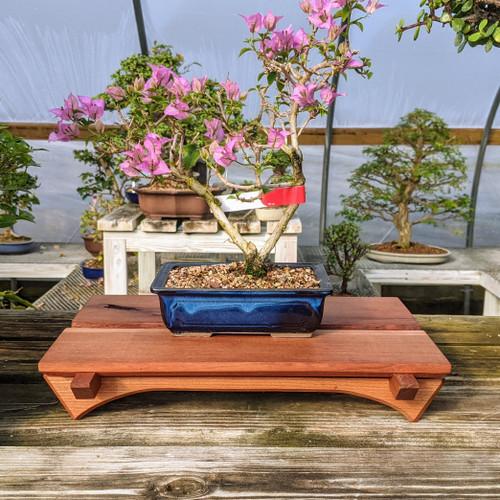 "15"" Bonsai Display Table - Split Top (051)"