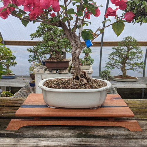 """14"""" Bonsai Display Table with River Effect (058)"""