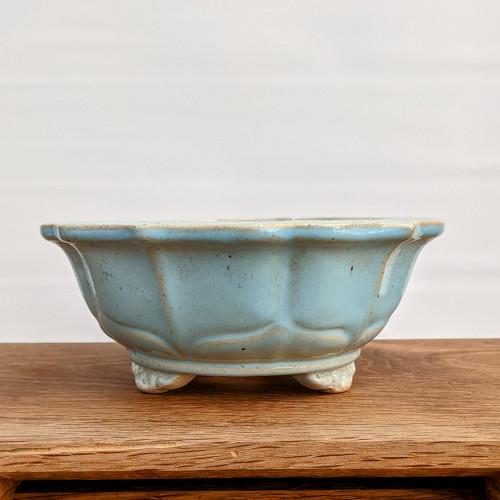 """6"""" Glazed Ceramic Pot (1508)"""