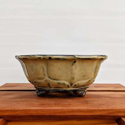 """6"""" Glazed Ceramic Pot (1510)"""