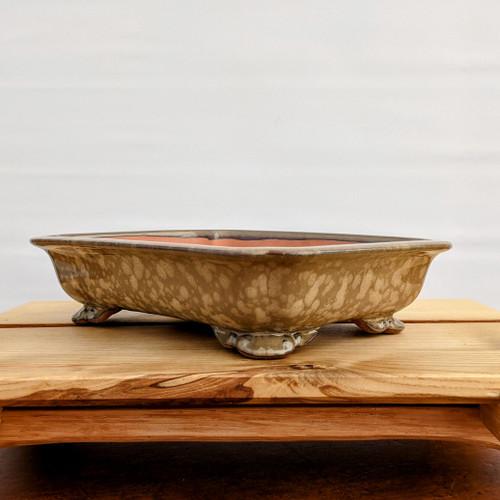 """9"""" Glazed Ceramic Pot (1512)"""