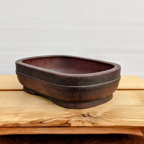 """7"""" Glazed Ceramic Pot (1516)"""