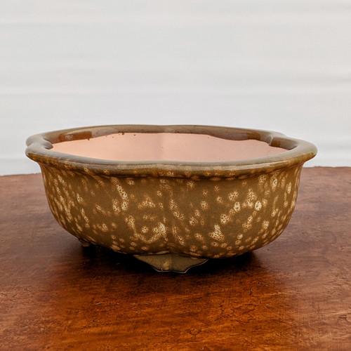 """8"""" Glazed Ceramic Pot (1519)"""